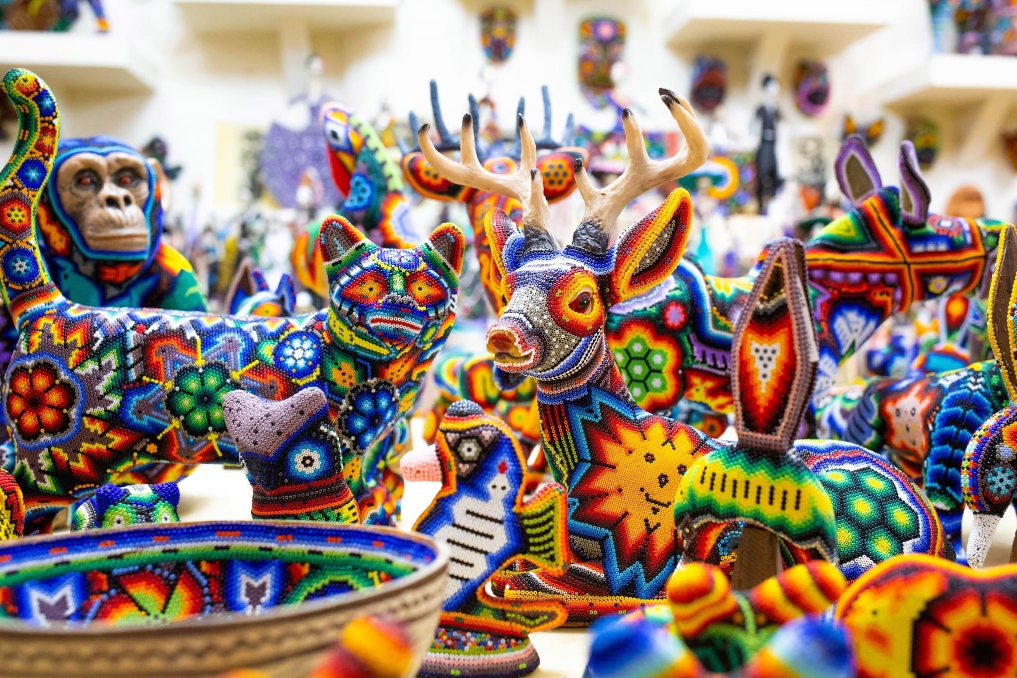 Arte-Huichol puerto vallarta méxico (1) (1)